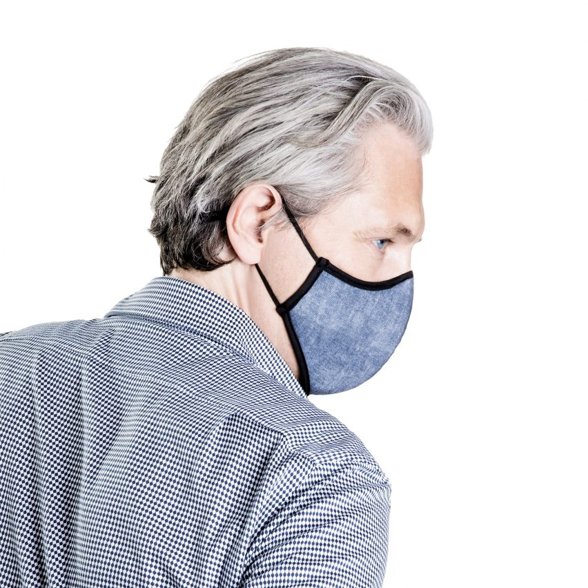 Marcel Wanders designs patterned pollution masks for O2TODAY