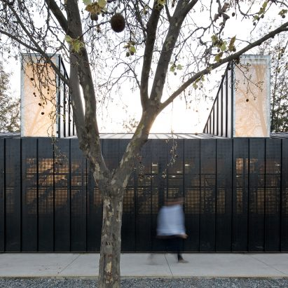 Jean Mermoz School and Pavilion by Guillermo Hevia García and Nicolás Urzúa Soler