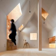 10 home interiors from Dezeen's Pinterest boards that contain house-shaped hideaways