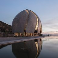 Bahá'í temple in Chile by Hariri Pontarini features torqued wings made of steel and glass