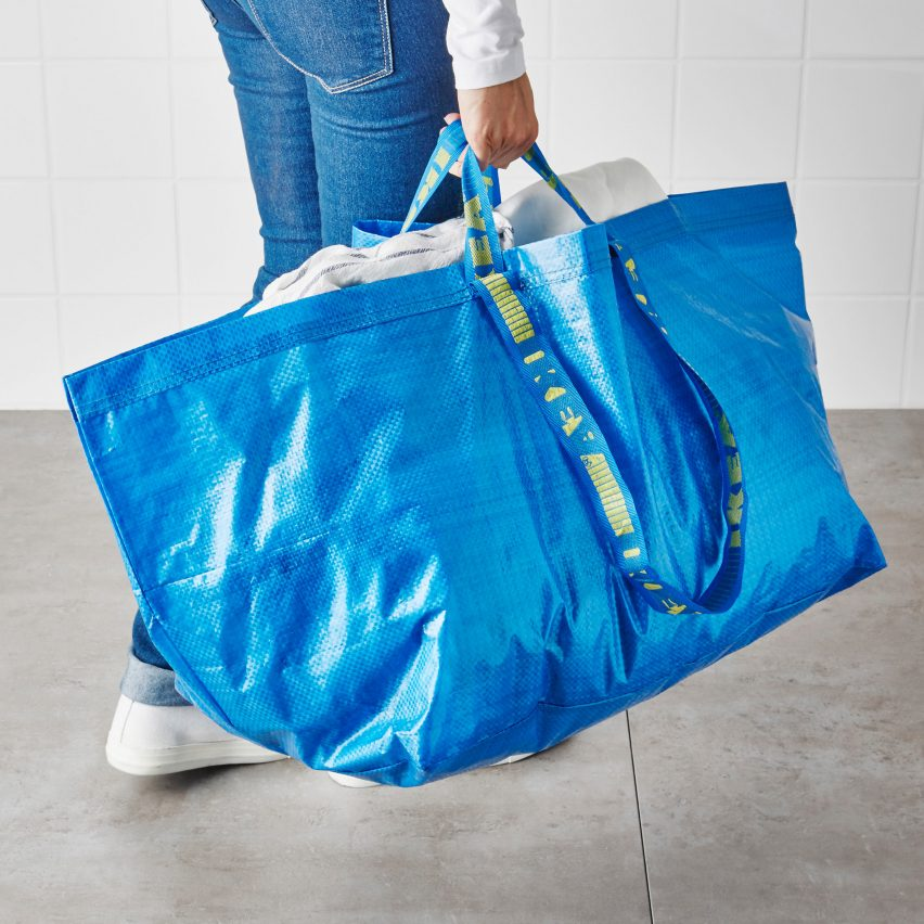 1,705 version of IKEA's blue tote bag