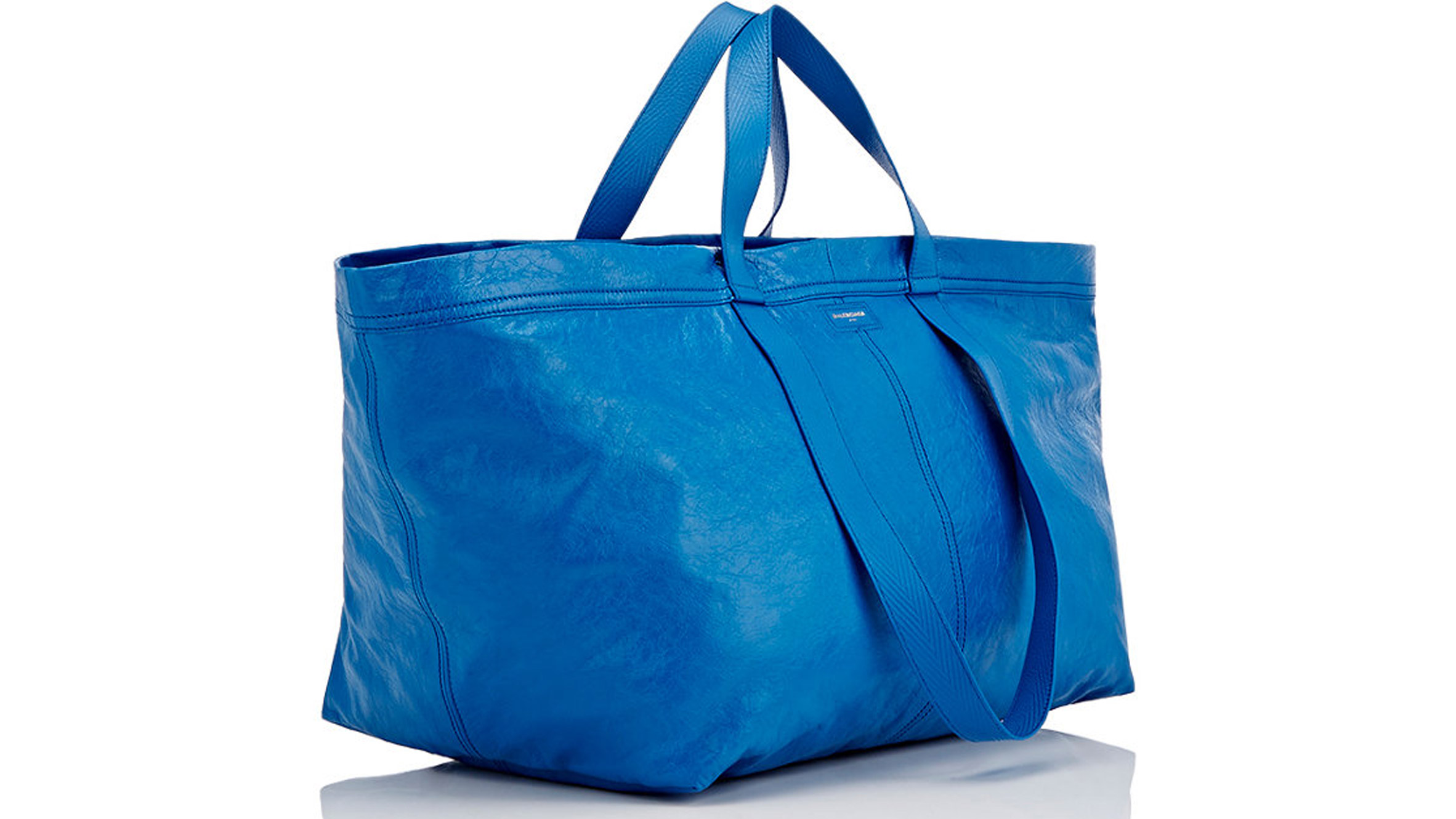 Balenciaga sells £1,705 version of IKEA's blue tote bag worth 40p