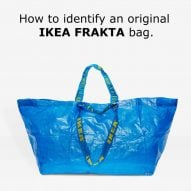 IKEA responds to Balenciaga's take on blue tote with spot-the-difference guide
