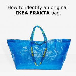 IKEA Responds To Balenciagau0027s Take On Blue Bag With Spot The Difference  Guide