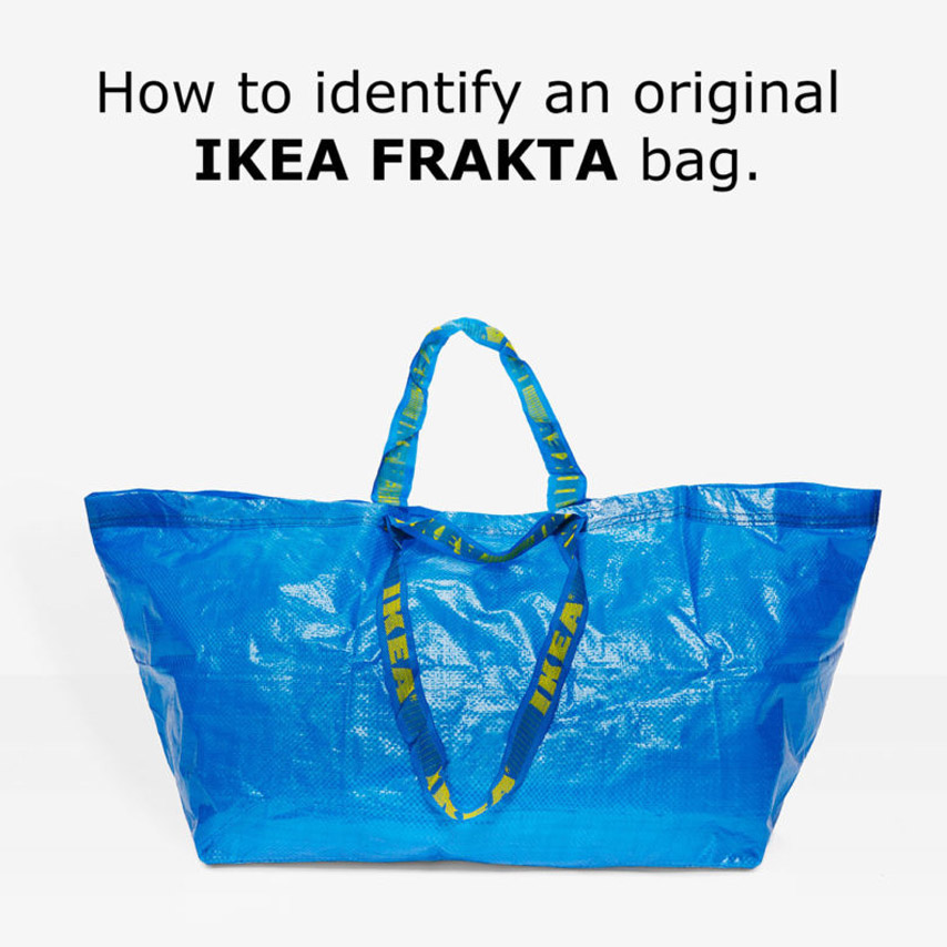 IKEA's blue bag has been reimagined as a $38 baseball hat