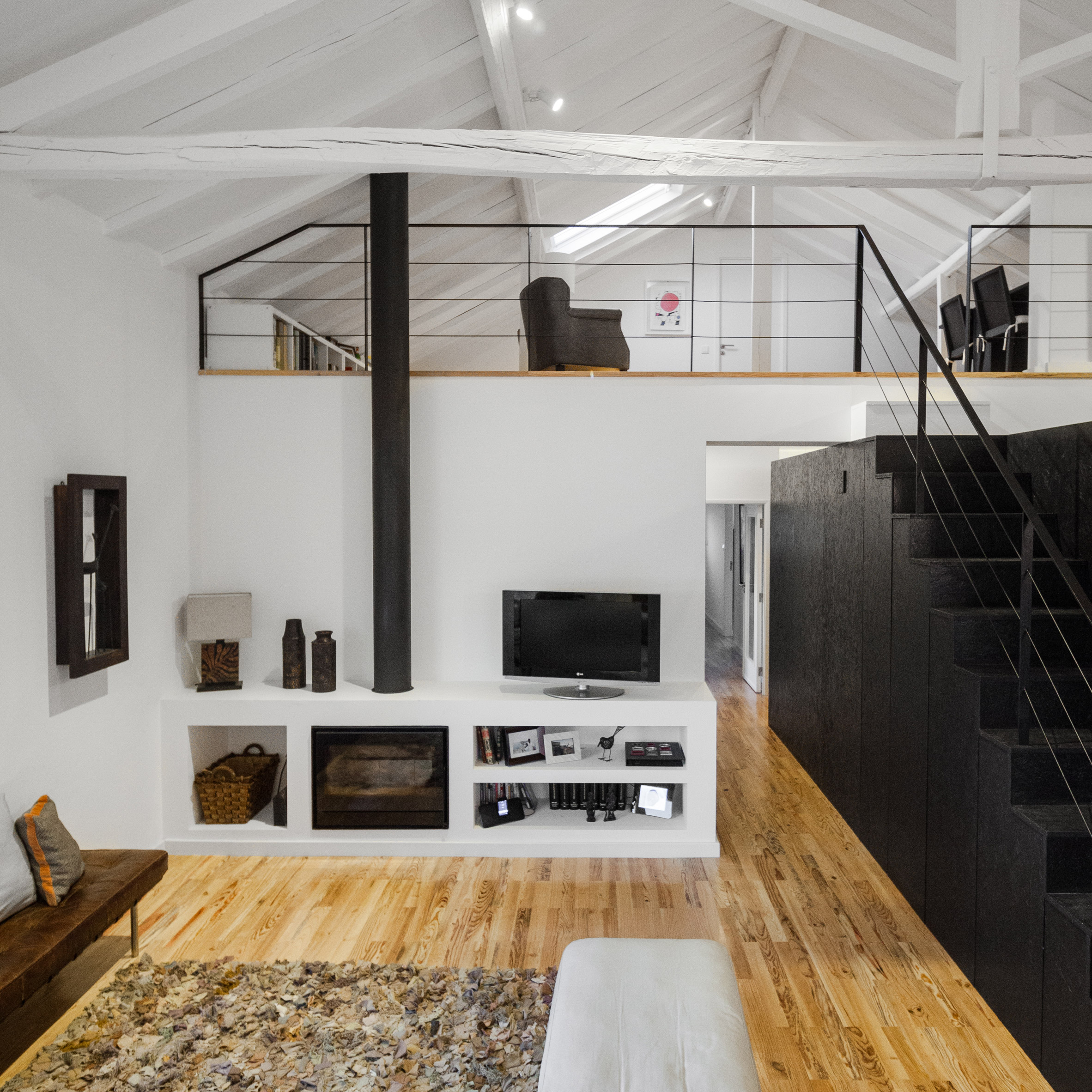 10 homes from Dezeen's Pinterest boards that take mezzanines to new heights