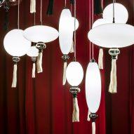 Marcel Wanders' Calliope lighting reinterprets paper lanterns