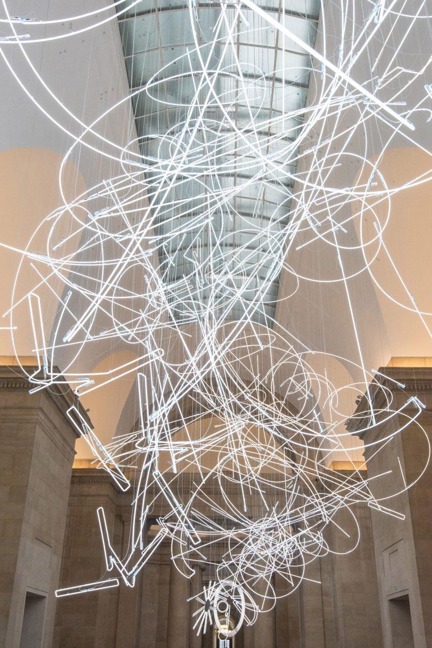 Tate Cerith Wyn Evans installation