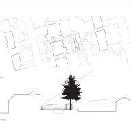 Plan for Clearview Pavilion by Amantea Architects