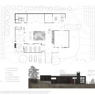 Plan of COR cellars by goCStudio