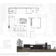 Plan of COR cellars by goCStudio