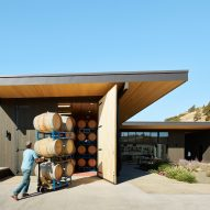 GoCstudio designs low-lying winery to blend with Washington's natural terrain