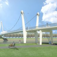 Dafne Schippers Bridge by NEXT architects and Rudy Uytenhaak Architectenbureau
