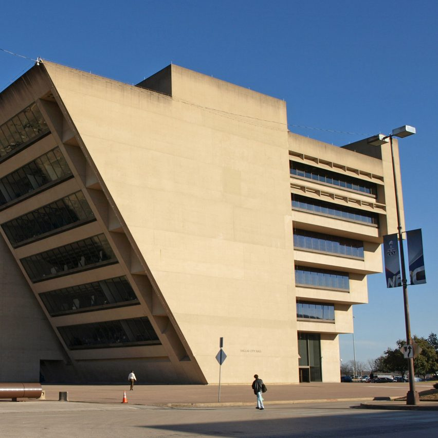 dallas city hall by im pei