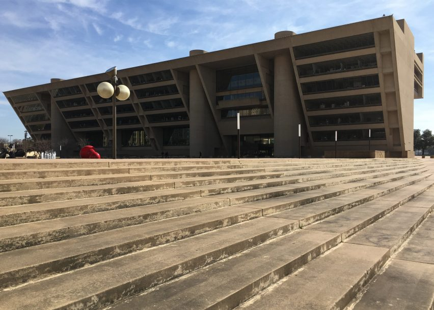 Dallas City Hall by I.M. Pei