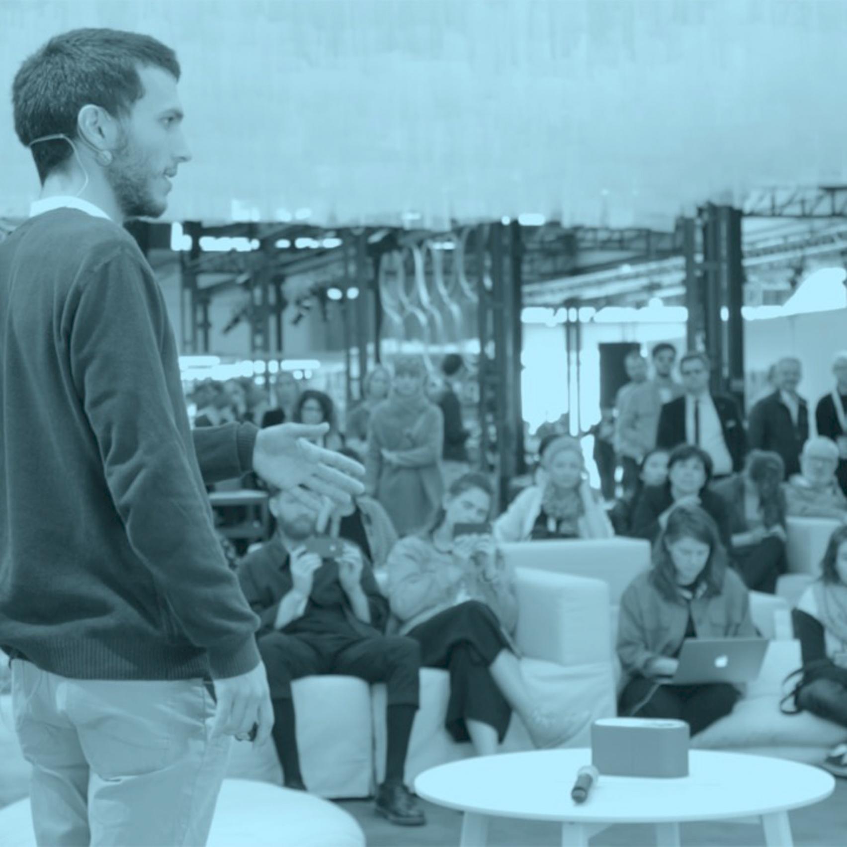 Dezeen at IKEA Festival: Teenage Engineering shows off portable music machines