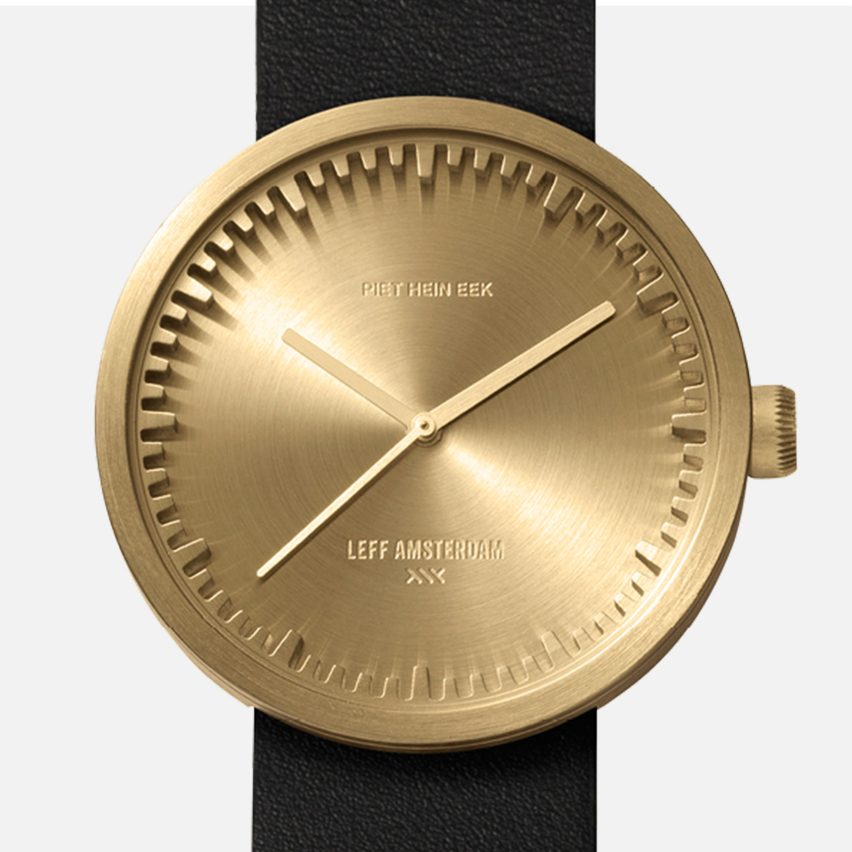 Piet Hein Eek-designed Tube Watch D38 for LEFF Amsterdam