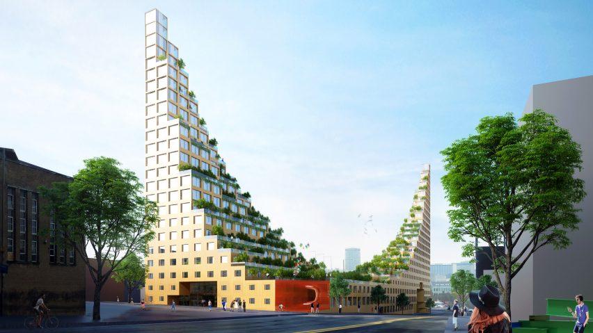 Housing Development Based On Hanging Gardens Of Babylon Proposed