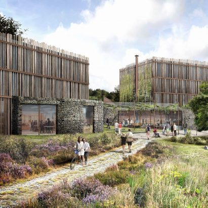 The Eden Project hotel by Tate Harmer