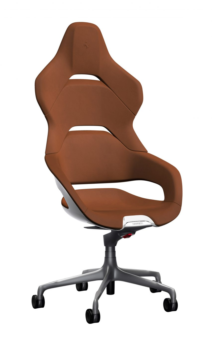 Ferrari Design Team Creates Cockpit Office Chair For Poltrona Frau
