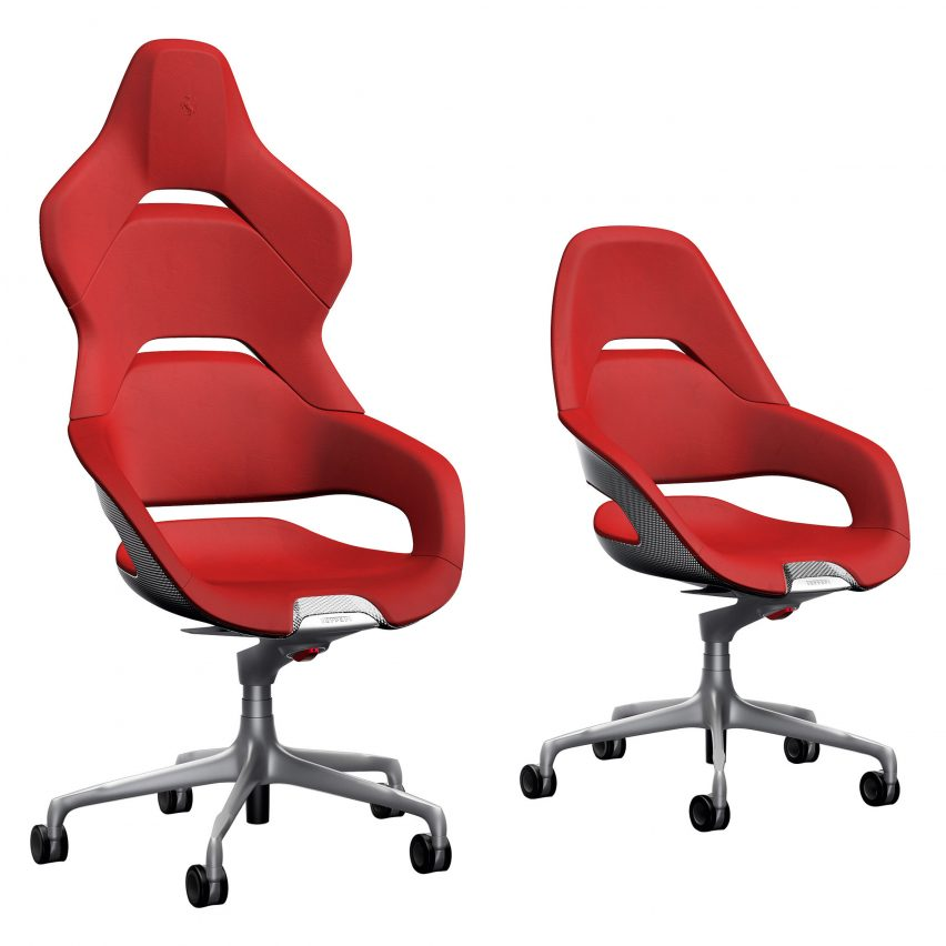 office chair design. Shown At Milan Design Week, The Cockpit Chair Comes In Two Versions \u2013 President, Which Features A Higher Backrest Based On Racing Seats, Office T