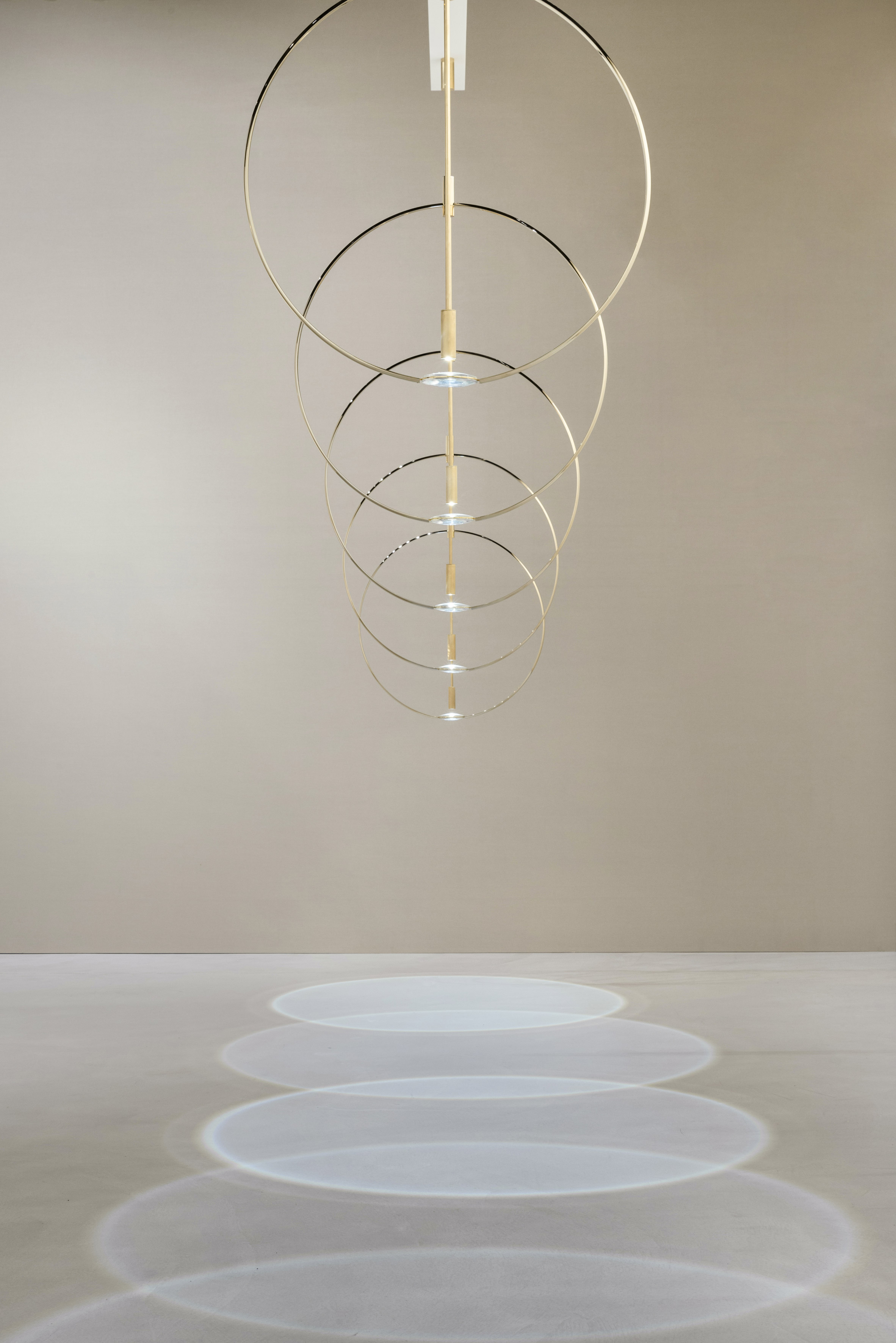 Formafantasma presents lighting designs that exploit geometry, colour and shadow