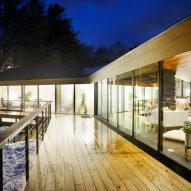 Glass Trefoil House by J Roc Design