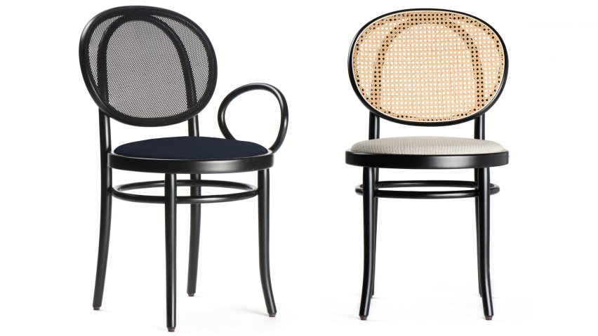Delicieux Front Designs Asymmetric Version Of Thonetu0027s Classic Bistro Chair