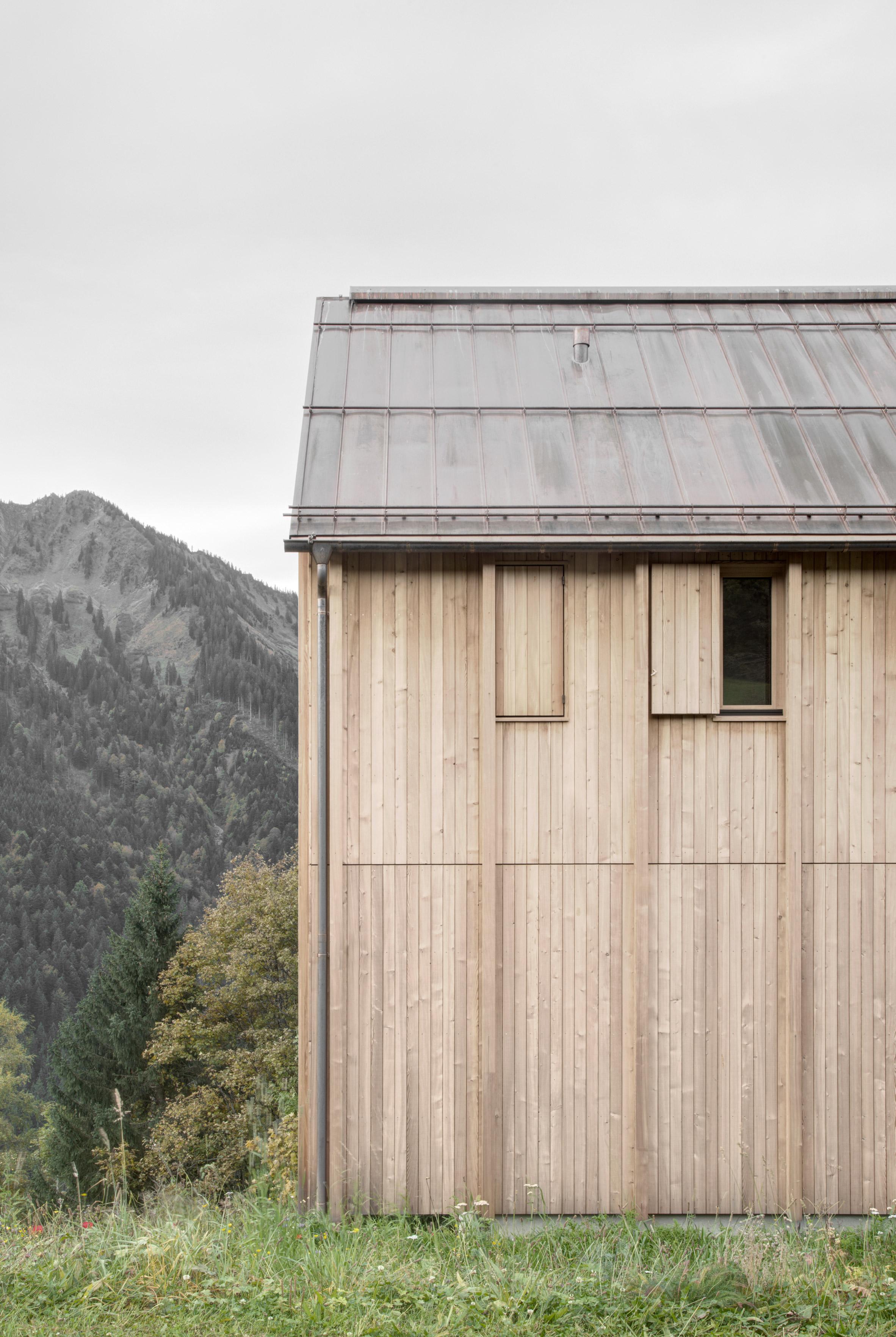 Haus am Stürcherwald by Bernardo Bader