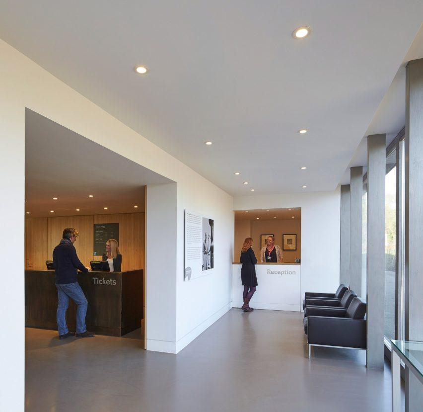 Henry Moore studios by Hugh Broughton
