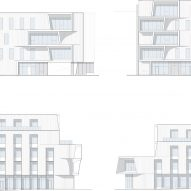 Plan for One North offices by Holst Architecture