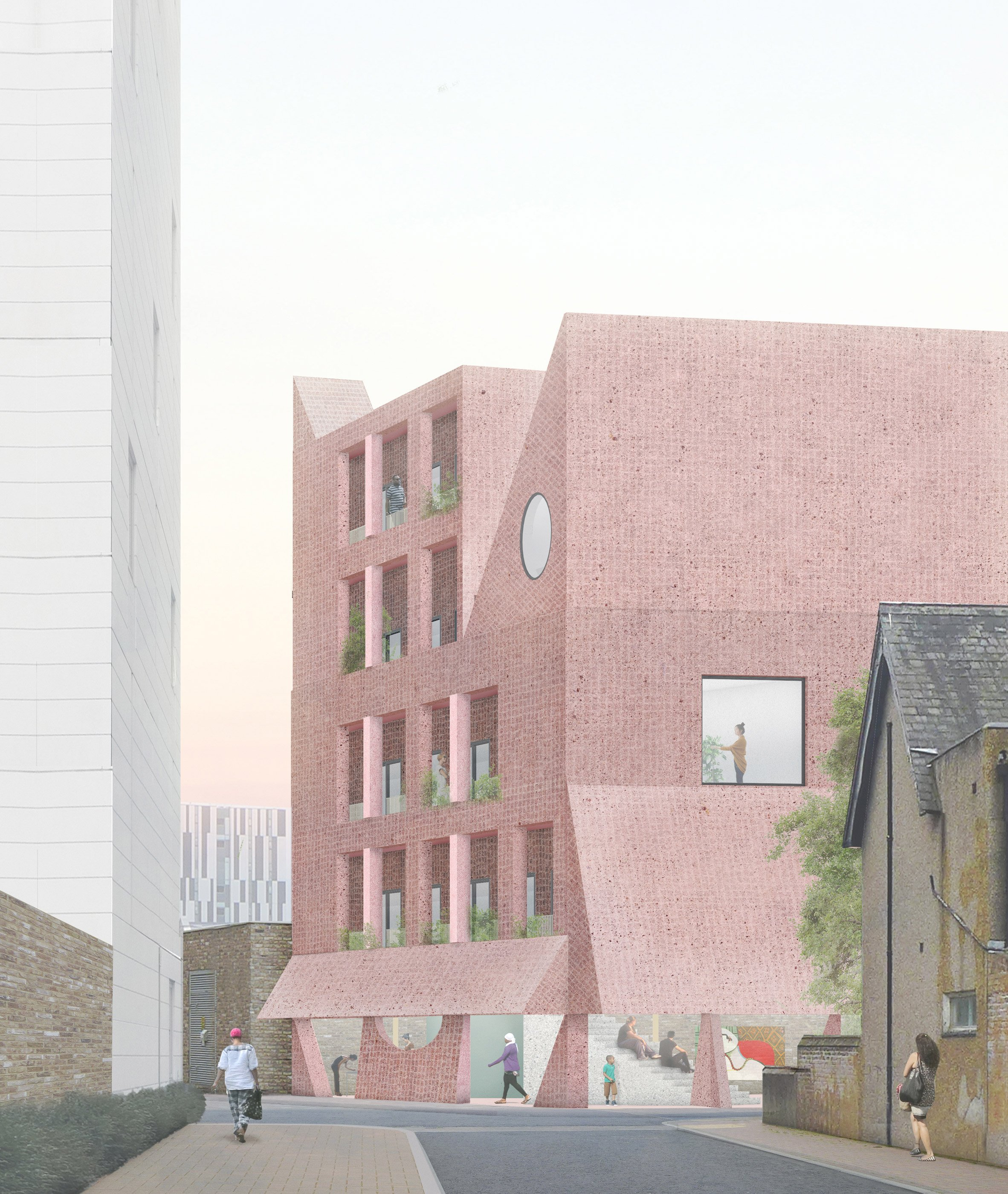 Grayson Perry and Apparata team up to create A House for Artists in east London