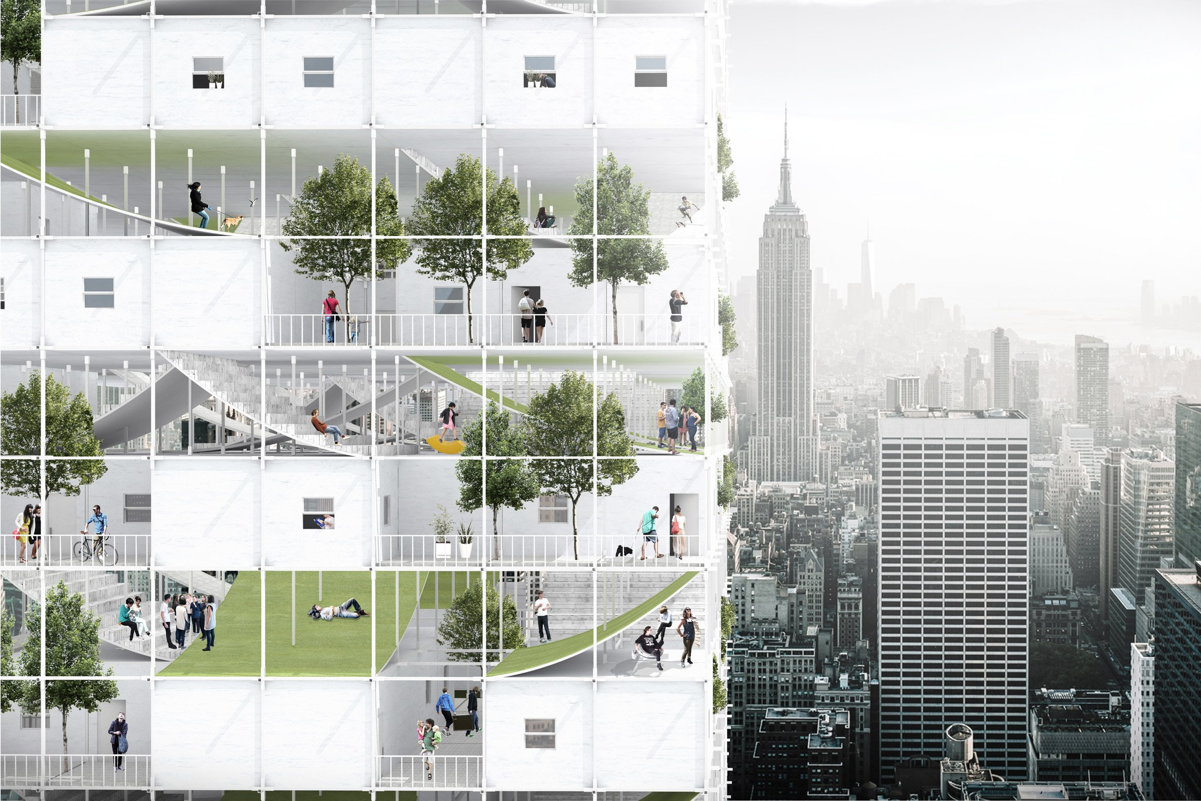 Instant City : Living Air-Right Beomki Lee and Chang Kyu Lee