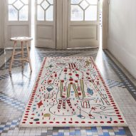 Jaime Hayon creates surreal sketches for Nanimarquina's 30th anniversary rugs