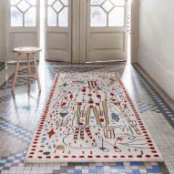 Jaime Hayon creates surreal sketches for Nanimarquina's 30th anniversary rugs