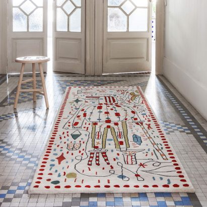 Ordinaire Jaime Hayon Creates Surreal Sketches For Nanimarquinau0027s 30th Anniversary  Rugs
