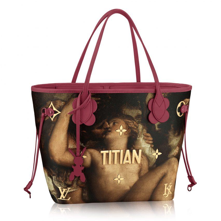 409f91287c Jeff Koons recreates art masterpieces on Louis Vuitton handbags
