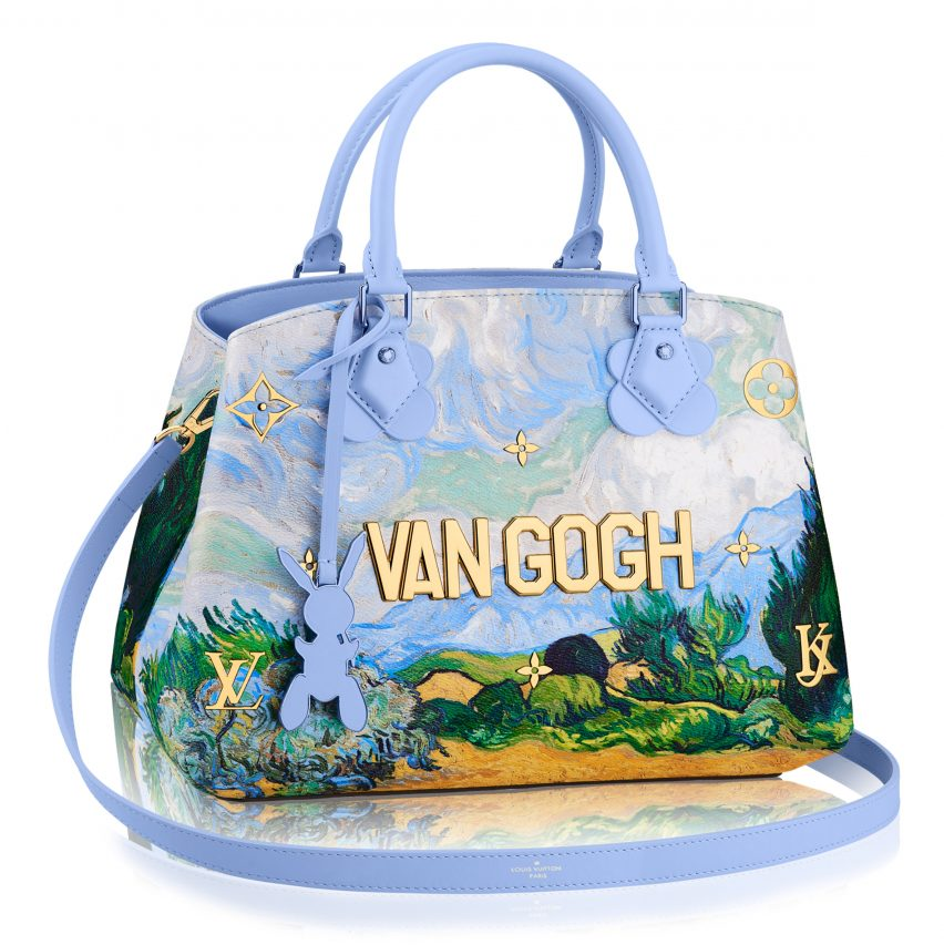 f9cebb504f Artist Jeff Koons has teamed up with fashion house Louis Vuitton to create  a collection of bags and accessories featuring imitations of some of the  world s ...