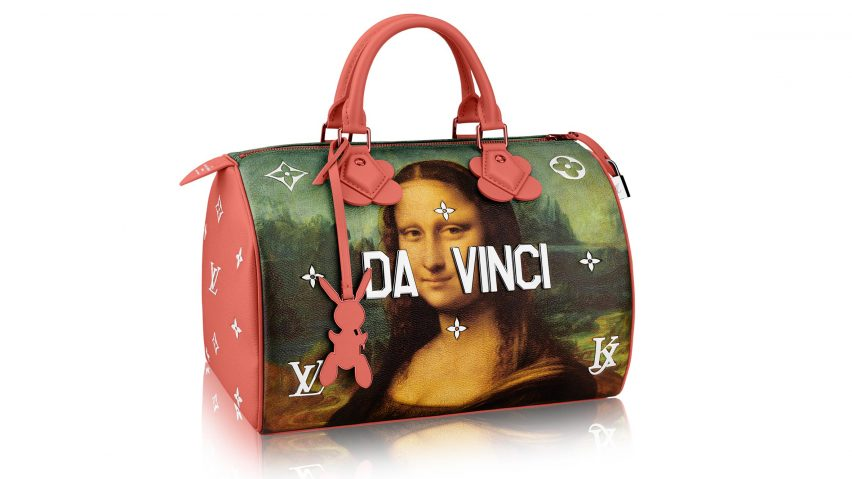 Jeff Koons recreates art masterpieces on Louis Vuitton handbags 36f3d8c5ee095