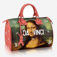 Jeff Koons recreates the Mona Lisa on a Louis Vuitton handbag