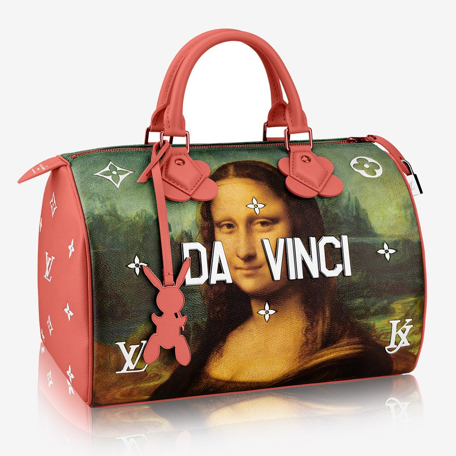59a7dbec1ddf Jeff Koons recreates art masterpieces on Louis Vuitton handbags