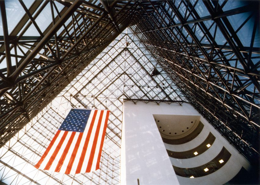 Kennedy Library by I.M. Pei