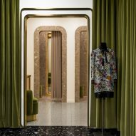 India Mahdavi references Bauhaus geometry with patterned interior for Berlin's KaDaWe