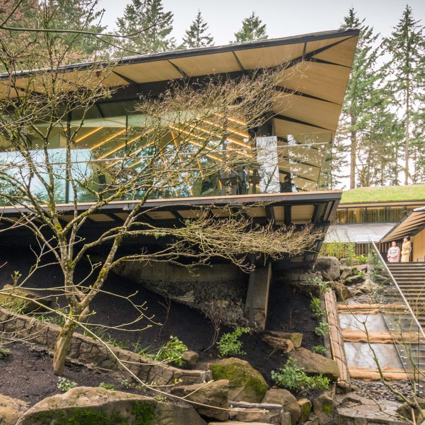 Kengo Kuma's expansion of Portland Japanese Garden