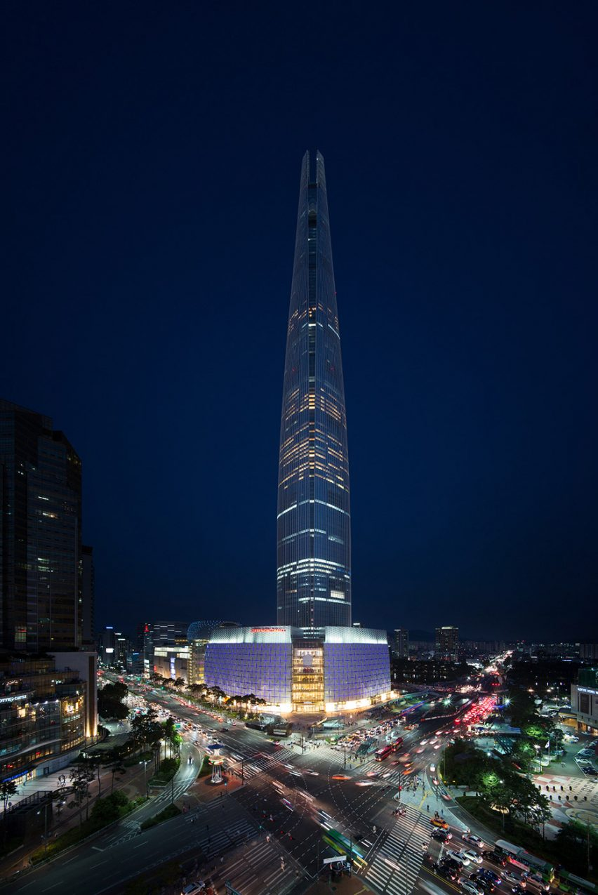Kohn Pedersen Fox tower South Korea