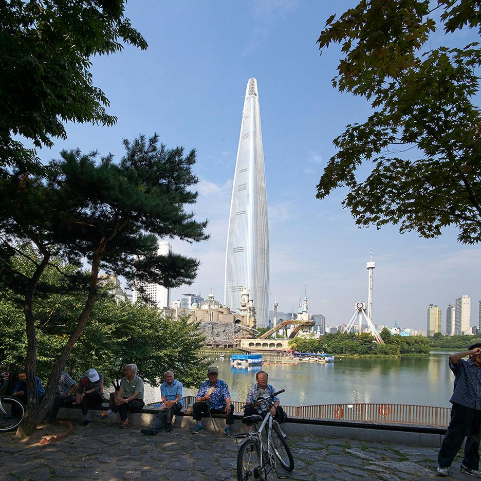 Kohn Pedersen Fox tower South Korea