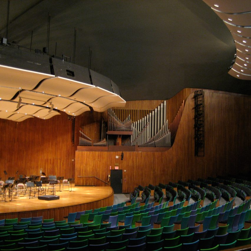 Kresge Auditorium by Eero Saarinen