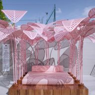 "Colour of the moment ""millennial pink"" dominates at Milan design week"