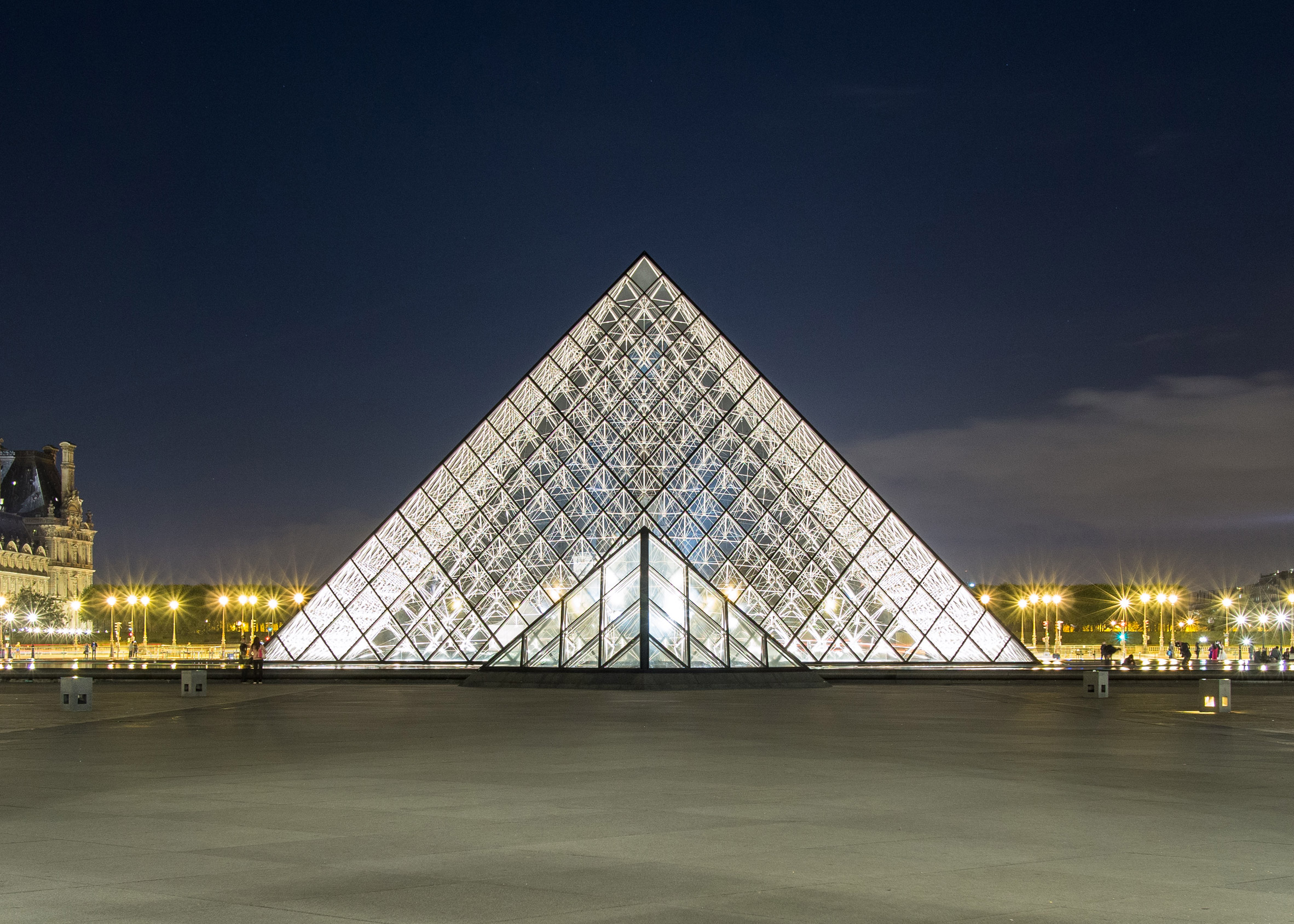 Le Grand Louvre by I.M. Pei