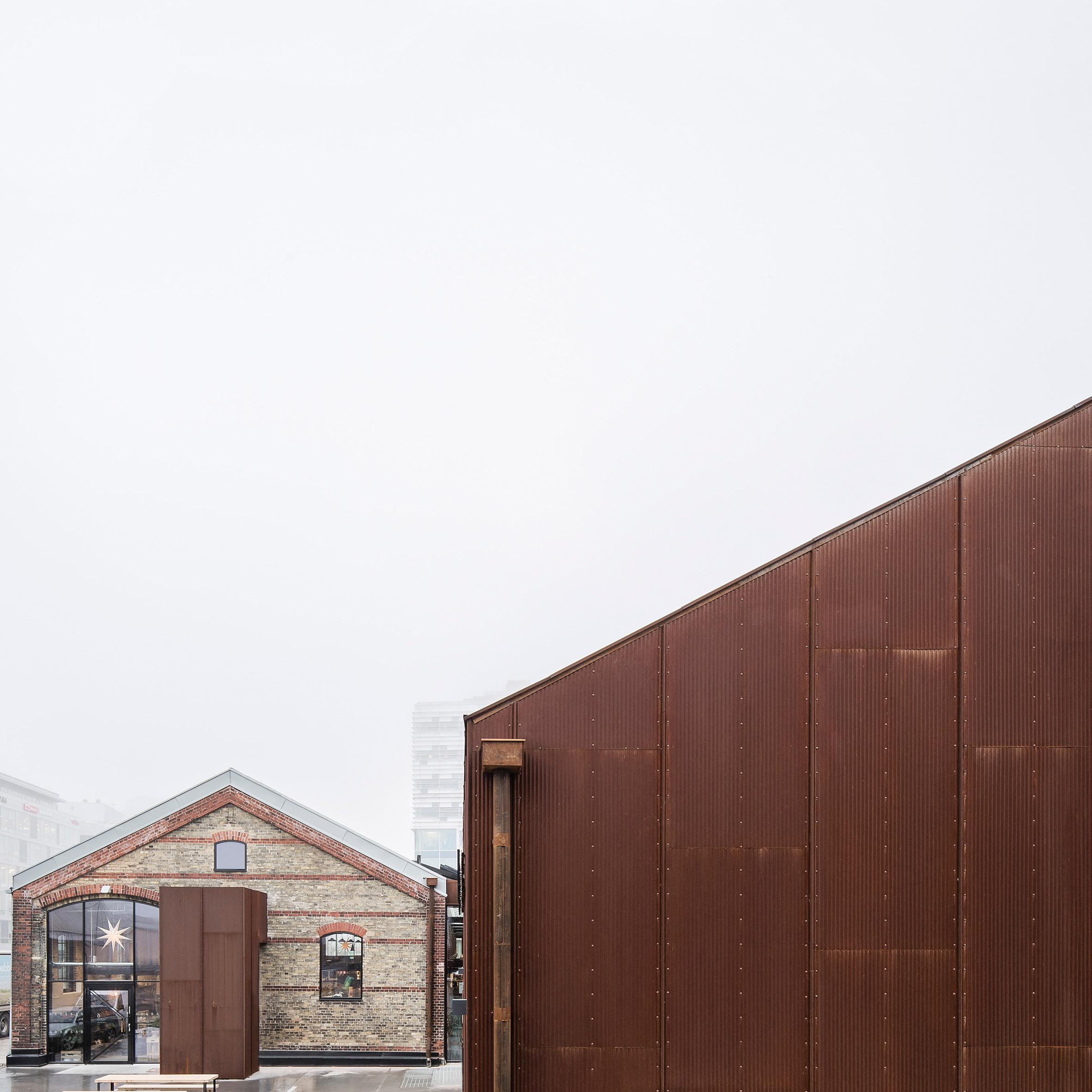 Corrugated metal | Dezeen